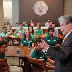 President Frenk's First Day
