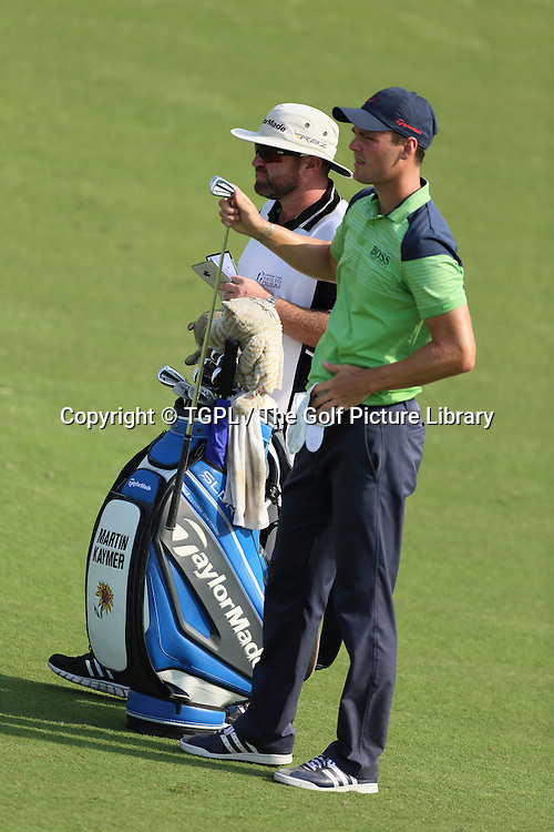 Martin KAYMER (GER) during second round DP World Tour Championship 2013,Jemeirah Golf Estates, Dubai,UAE.