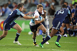 Lachie Turner. Investec Super Rugby - Blues v Waratahs, Eden Park, Auckland, New Zealand. Saturday 16 April 2011. Photo: Clay Cross / photosport.co.nz