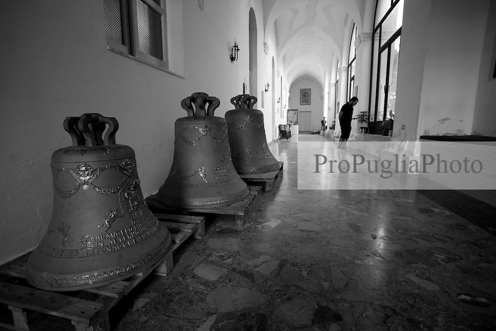 Un corridoio della Chiesa dell'Arcangelo Michele.