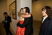 Countess Maya von Schonburg; Tom Ford, TOMAS DIAZ-Mario Testino: Obsessed by You -  private view<br />Phillips de Pury & Company, Howick Place, London, SW1, 2 July 2008 *** Local Caption *** -DO NOT ARCHIVE-© Copyright Photograph by Dafydd Jones. 248 Clapham Rd. London SW9 0PZ. Tel 0207 820 0771. www.dafjones.com.