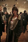 Tracey Emin, TWO LEGS BAD, FOUR LEGS GOOD, Jake & Dinos Chapman. PARADISE ROW, 17 Hereford Street. London E2 . 9 February 2007.  -DO NOT ARCHIVE-© Copyright Photograph by Dafydd Jones. 248 Clapham Rd. London SW9 0PZ. Tel 0207 820 0771. www.dafjones.com.