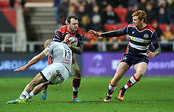 Luke Arscott of Bristol Rugby - Mandatory by-line: Paul Knight/JMP - 13/01/2017 - RUGBY - Ashton Gate - Bristol, England - Bristol Rugby v Bath Rugby - European Challenge Cup