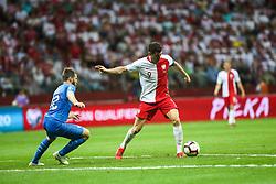 June 10, 2019 - Warsaw, Poland - Robert Lewandowski of Poland in action during the UEFA Euro 2020 qualifier Group G football match Poland against Israel on June 10, 2019 in Warsaw, Poland. (Credit Image: © Foto Olimpik/NurPhoto via ZUMA Press)