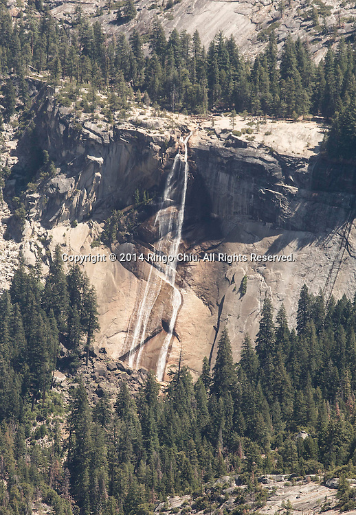 A water fall is seen from Glacier Point at Yosemite National Park, California. (Photo by Ringo Chiu/PHOTOFORMULA.com)