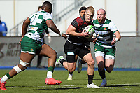 Rugby Union - 2020 / 2021 Greene King IPA Championship - Round Seven - Saracens vs Ealing Trailfinders - StoneX Stadium<br /> <br /> Saracens' Aled Davies in action during this afternoon's game.<br /> <br /> COLORSPORT