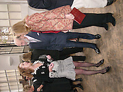 Emma Sergeant ( Zamoyski)  with Prince and Princess Michael of Kent<br /> 1812 Napoleon's Fatal March on Moscow by Adam Zamoyski book launch. Avenue Studios. Fulham Rd. 5 April 2004. ONE TIME USE ONLY - DO NOT ARCHIVE  © Copyright Photograph by Dafydd Jones 66 Stockwell Park Rd. London SW9 0DA Tel 020 7733 0108 www.dafjones.com