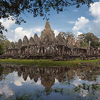 Located at the centre of Angkor Thom, stands Bayon, a famous and the last builded state temple of Angkor.