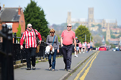General view outside Sincil Bank Stadium - Mandatory by-line: Alex James/JMP - 22/04/2019 - FOOTBALL - Sincil Bank Stadium - Lincoln, England - Lincoln City v Tranmere Rovers - Sky Bet League Two