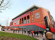 A general view of the new stand during the Premier League match at Anfield Stadium, Liverpool. Picture date December 27th, 2016 Pic David Klein/Sportimage