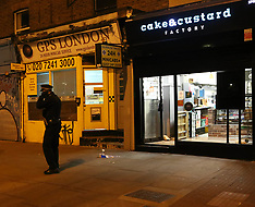 Shooting in East London Cak Shop