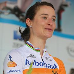 19-07-2016: Wielrennen: Thueringen Rundfahrt vrouwen: Greiz<br /> GREIZ (DLD) WIELRENNEN  <br /> Marianne Vos heeft de vijfde etappe van de Thüringen Rundfahrt gewonnen. De olympisch kampioene van Londen was al aan haar derde ritzege toe in de Duitse etappekoers.Eerder won ze ook al de eerste en derde etappe.