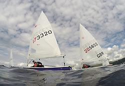 Caledonia MacBrayne Largs Regatta Week 2016<br /> <br /> Laser Fleet as part of Slow Handicap,  LASER 173320, PSC, Ken Hathaway<br /> <br /> Credit Marc Turner / PFM Pictures.co.uk