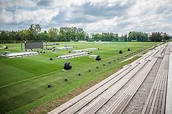 National football training centre of NZS (Football Association of Slovenia) day before it's opening, on May 5, 2016 in Brdo pri Kranju, Slovenia. Photo by Vid Ponikvar / Sportida