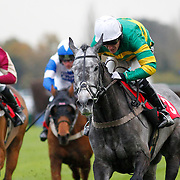 Dreamsoftheatre and A P McCoy winning the 2.40 race