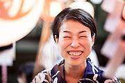 Gion Matsuri temple booth attendant