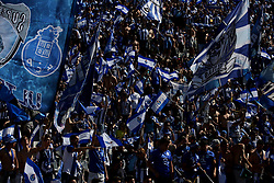 May 25, 2019 - Oeiras, Portugal - OEIRAS, PORTUGAL - MAY 25: Porto's supporters during the Portugal Cup Final football match Sporting CP vs FC Porto at Jamor stadium, on May 25, 2019, in Oeiras, outskirts of Lisbon, Portugal. (Credit Image: © Pedro Fiuza/NurPhoto via ZUMA Press)