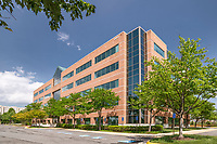 Architectural image of Dulles Tech 1 Office Building in Chantilly Virginia by Jeffrey Sauers of Commercial Photographics, Architectural Photo and Video Artistry