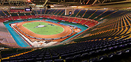 General view inside the Principality Stadium ahead of the 2019 Adrian Flux British FIM Speedway Grand Prix at the Principality Stadium, Cardiff, Wales on 21 September 2019.