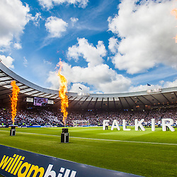 Falkirk fans at the Scottish Cup Final, May 2015