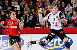 Tamara Mavsar of Krim at handball match of Round 2 of Champions League between RK Krim Mercator and Aalborg DH, on October 31, 2009, in Arena Kodeljevo, Ljubljana, Slovenia.  Krim won 30:23. (Photo by Vid Ponikvar / Sportida)