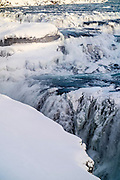 Gulfoss waterfall, Golden Circle, Iceland