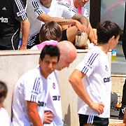 Besiktas's new Portuguese forward Bebe (Tiago Manuel Dias Correia) (C) during their new season training at BJK Nevzat Demir training center in Istanbul, Turkey, 30 June 2011. Photo by TURKPIX