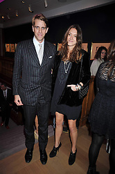 BEN ELLIOT and MARY-CLARE WINWOOD at fundraising dinner and auction in aid of Liver Good Life a charity for people with Hepatitis held at Christies, King Street, London on 16th September 2009.