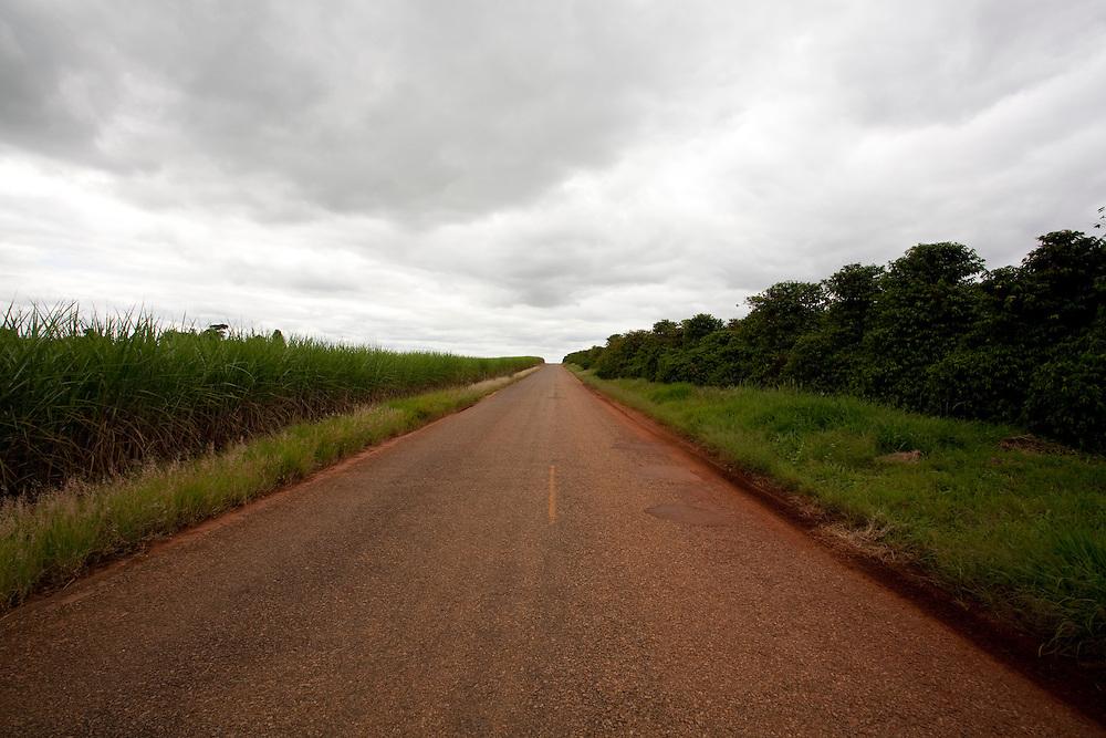 Divisa Nova_MG, Brasil...Rodovia em Divisa Nova...A highway in Divisa Nova...Foto: LEO DRUMOND / NITRO