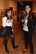 EVA GARCIA; MARIA CHIRIAEVA, The Arthur Cox Irish Fashion Showcase 2015,  Irish based designers chosen to be part of this year's Arthur Cox Irish Fashion Showcases The Mall Galleries, London. 13 May 2015.