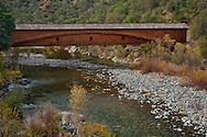 Bridgeport Covered Bridge over South Yuba River State Park, Nevada County, California
