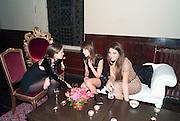FRAN HICKMAN; CAROL SIEBER; MARGHERITA MISSONI, - IMG HERALD TRIBUNE HERITAGE LUXURY PARTY.- Celebration of Heritage Luxury and 10 years of the International Herald Tribune Luxury Conferences. North Audley St. London. 9 November 2010. -DO NOT ARCHIVE-© Copyright Photograph by Dafydd Jones. 248 Clapham Rd. London SW9 0PZ. Tel 0207 820 0771. www.dafjones.com.