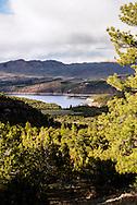 Flaming Gorge Reservoir, Cart Creek Bridge, Flaming Gorge Uintas National Scenic Byway, Flaming Gorge National Recreation Area, Utah