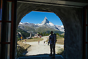 Sunnegga-Rothorn Express funicular, Zermatt, in the Pennine/Valais Alps, Switzerland, Europe. For licensing options, please inquire.