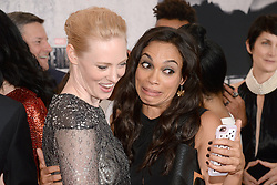 (L-R)  Actors Deborah Ann Woll and Rosario Dawson attend the 'Marvel's The Defenders' New York Premiere at Tribeca Performing Arts Center in New York, NY, on on July 31, 2017. (Photo by Anthony Behar) *** Please Use Credit from Credit Field ***