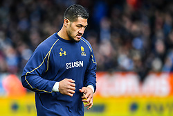 Alafoti Faosiliva of Worcester Warriors during the pre match warm up - Mandatory by-line: Craig Thomas/JMP - 10/02/2018 - RUGBY - Sandy Park Stadium - Exeter, England - Exeter Chiefs v Worcester Warriors - Aviva Premiership