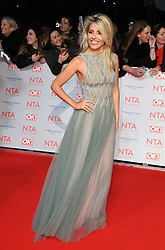 Mollie King attending the National Television Awards 2018 held at the O2, London. Photo credit should read: Doug Peters/EMPICS Entertainment