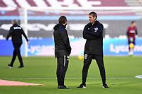 Football - 2020 / 2021 Premier League - West Ham United vs Brighton & Hove Albion - London Stadium<br /> <br /> Brighton & Hove Albion Head Coach Graham Potter.<br /> <br /> COLORSPORT/ASHLEY WESTERN