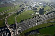 Nederland, Utrecht, Stadsdeel Leidsche Rijn, 24-10-2013; kantorenlokatie Papendorp (bedrijventerrein). In de voorgrond de A2 richting Oudenrijn.<br /> Papendorp office location (business park).<br /> luchtfoto (toeslag op standaard tarieven);<br /> aerial photo (additional fee required);<br /> copyright foto/photo Siebe Swart.