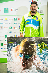 Press conference of Darko Duric, Slovenian Paralympic swimmer after decision of ending his career, on June 3, 2020 in Faculty of Sport, Ljubljana, Slovenia. Photo by Vid Ponikvar / Sportida
