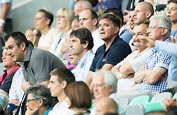 Dejan Stefanovic, Drago Balent during the EURO 2016 Qualifier Group E match between Slovenia and England at SRC Stozice on June 14, 2015 in Ljubljana, Slovenia. Photo by Vid Ponikvar / Sportida
