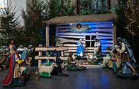 06.01.2014 Bialystok N/z szopka w kosciele pw Ducha Swietego fot Michal Kosc / AGENCJA WSCHOD