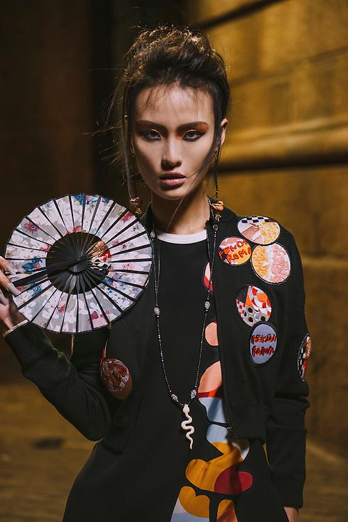 Fashion photo shoot in New York, geisha inspired theme - Fashion, lifestyle and portraiture photography