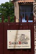 domaine saint henri chateauneuf du pape rhone france