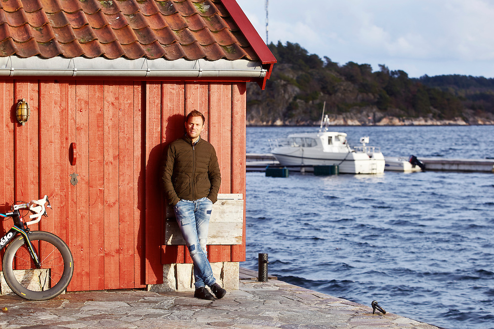 Grimstad, 20141128<br /> Thor Hushovd. Vi møter han i sitt hus i Grimstad som han bruker når han er i Norge.<br /> Foto: Paul Paiewonsky / Dagbladet MAGASINET