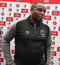 Cape Town-180915-  Cape Town City coach Benni McCarthy disappointed after his team4-1 loss to Kaizer Chiefs  in the ABSA Premiership clash at the Cape Town Stadium.City lost the game 4-1,Khama Billiat scored a brace .Photographs:Phando Jikelo/African News Agency/ANA