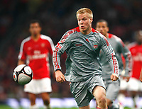Lauri Dalla Valle of Liverpool FA Cup 1st Leg Arsenal Youth v Liverpool Youth at Emirates  22/05/2009 Credit Colorsport / Kieran Galvin