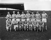 20/04/1958<br /> 04/20/1958<br /> 20 April 1958<br /> National Football League Semi -Final: Dublin v Mayo at Croke Park, Dublin. Dublin won the game. The Dublin team.