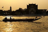 The Chao Phraya is a major transportation artery for a vast network of ferries and water taxis, also known as longtails. More than 15 boat lines operate on the river and canals of the city, including commuter ferry lines.