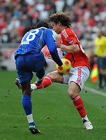 20090117: LISBON, PORTUGAL - SL Benfica vs Belenenses: Portuguese League Cup 2008/2009. In picture: David Luiz (Benfica). PHOTO: Alvaro Isidoro/CITYFILES
